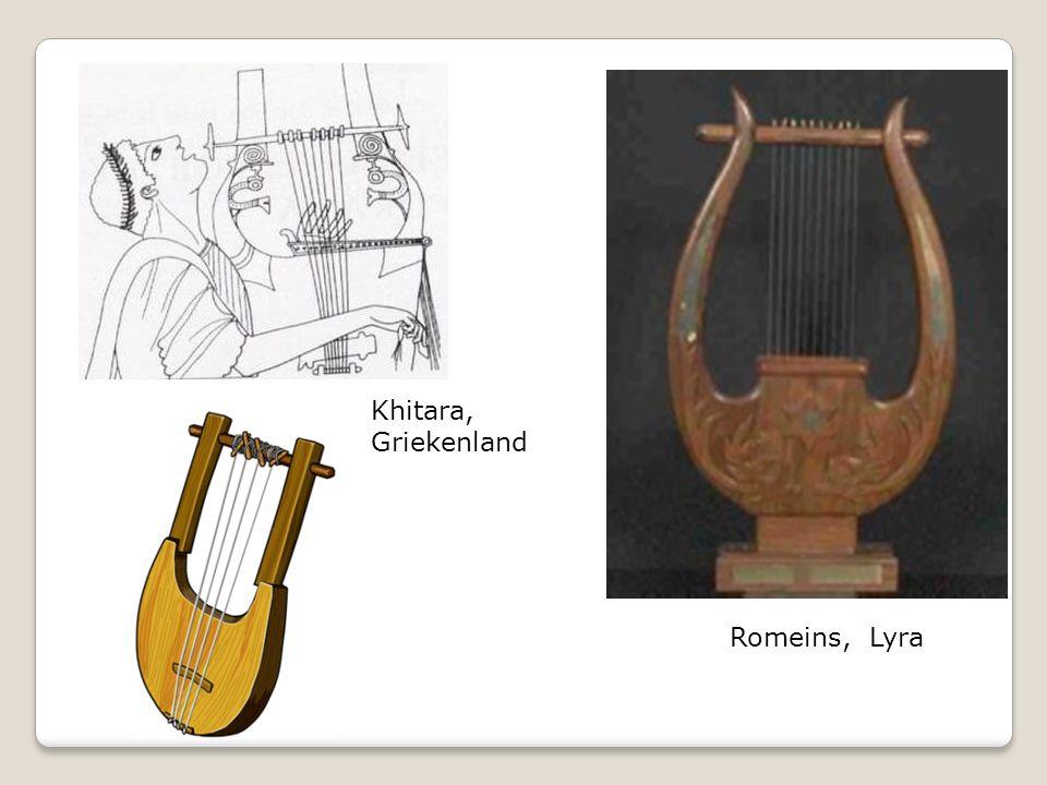 Khitara, Griekenland Romeins, Lyra