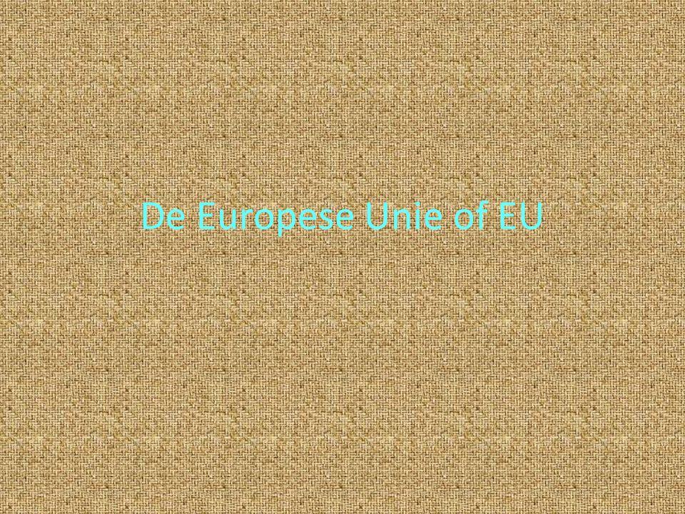 De Europese Unie of EU