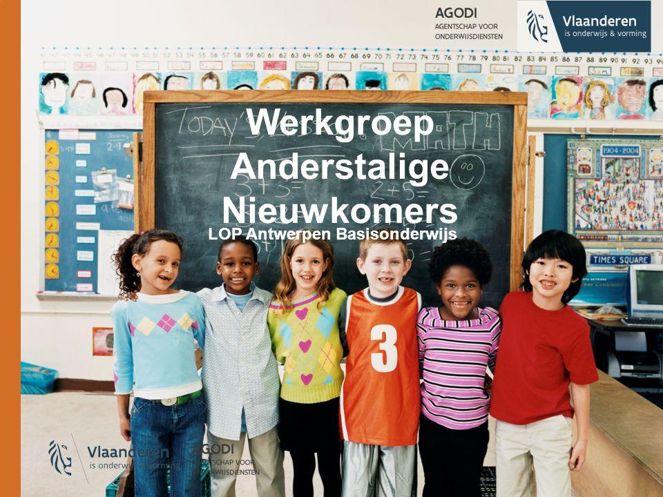Werkgroep Anderstalige Nieuwkomers LOP Antwerpen Basisonderwijs
