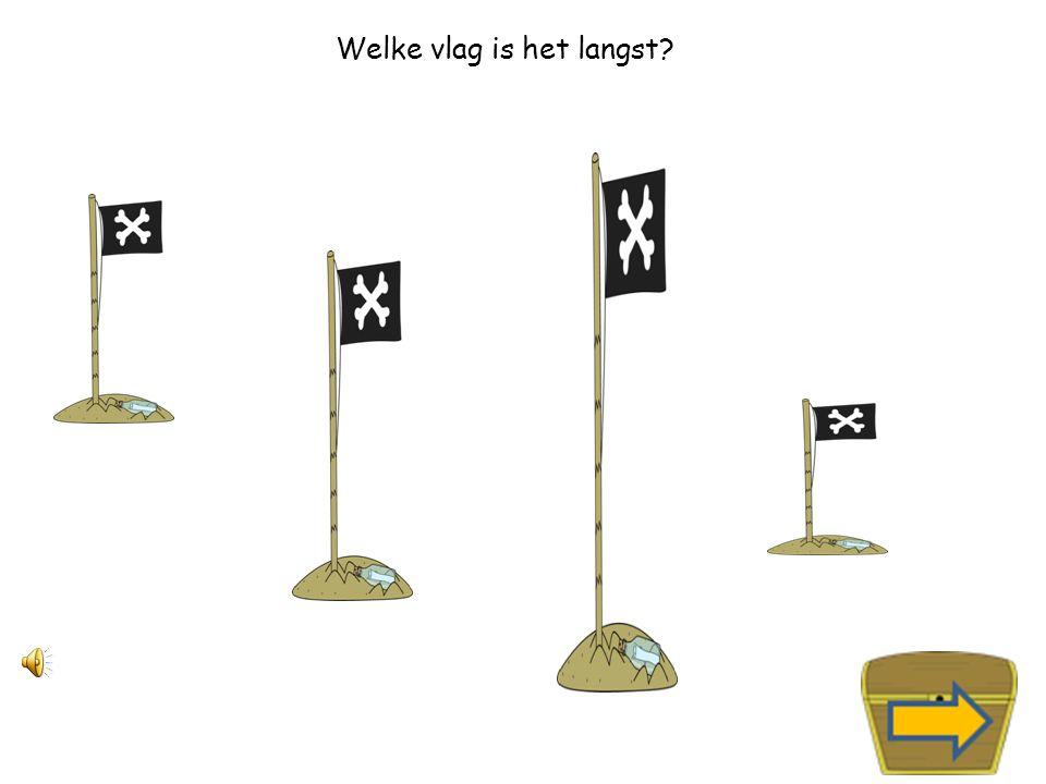 Welke vlag is het kortst?