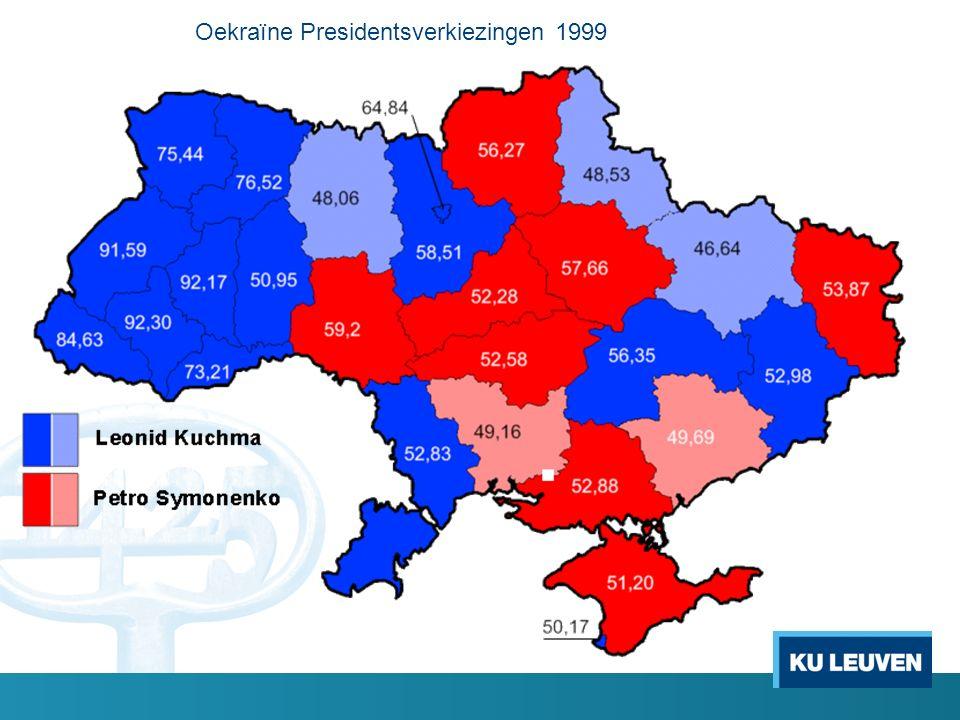 Oekraïne Presidentsverkiezingen 1999
