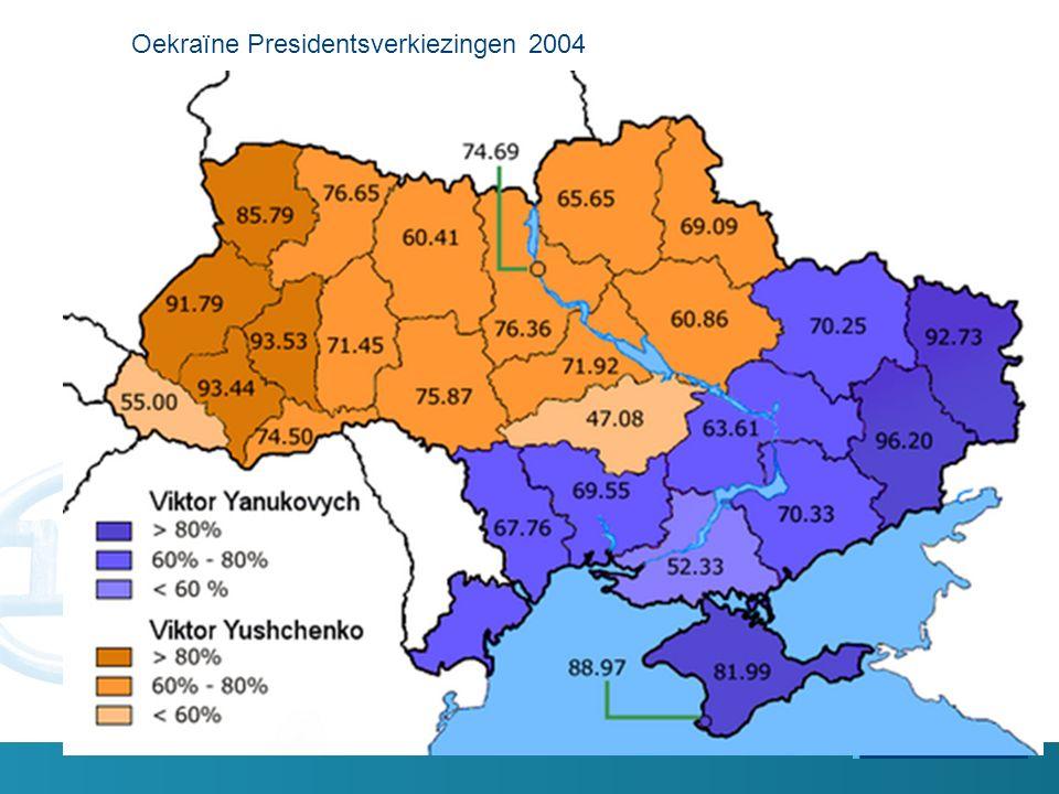 Oekraïne Presidentsverkiezingen 2004
