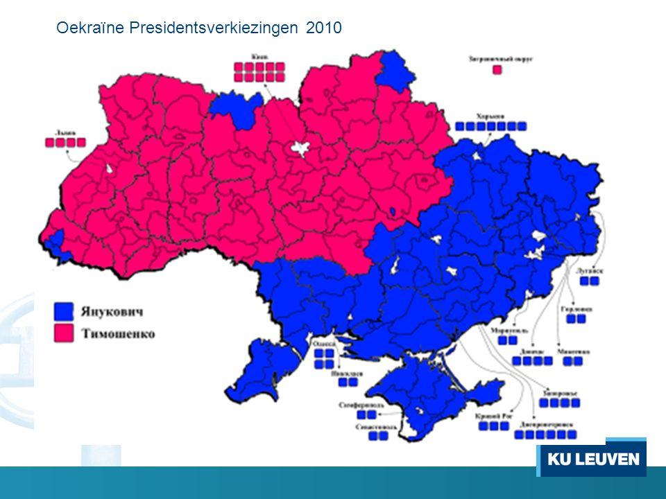 Oekraïne Presidentsverkiezingen 2010