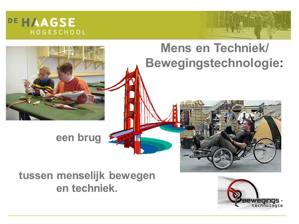 Mens en Techniek/ Bewegingstechnologie: tussen menselijk bewegen en techniek. een brug