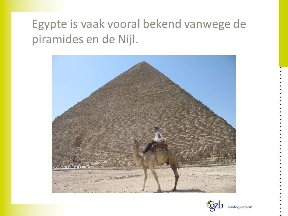 Egypte is vaak vooral bekend vanwege de piramides en de Nijl.