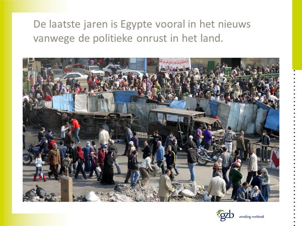 De laatste jaren is Egypte vooral in het nieuws vanwege de politieke onrust in het land.