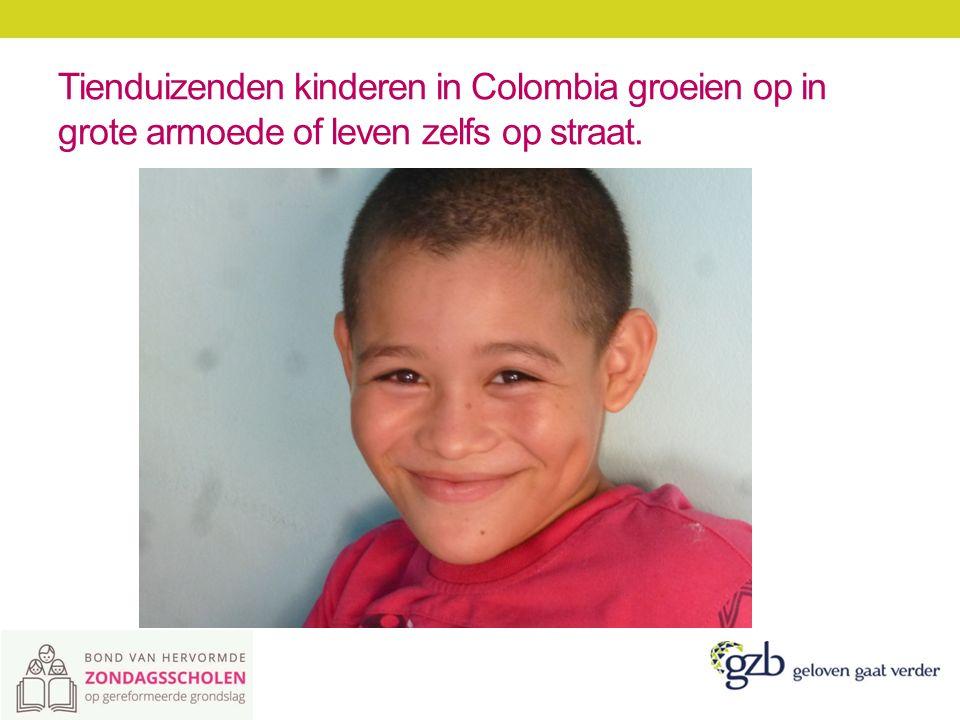 De Presbyteriaanse Kerk van Colombia trekt zich het lot van deze kinderen aan.