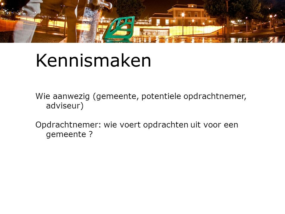 Aanbestedingsbeleid (raming inclusief opties), Apeldoorn.