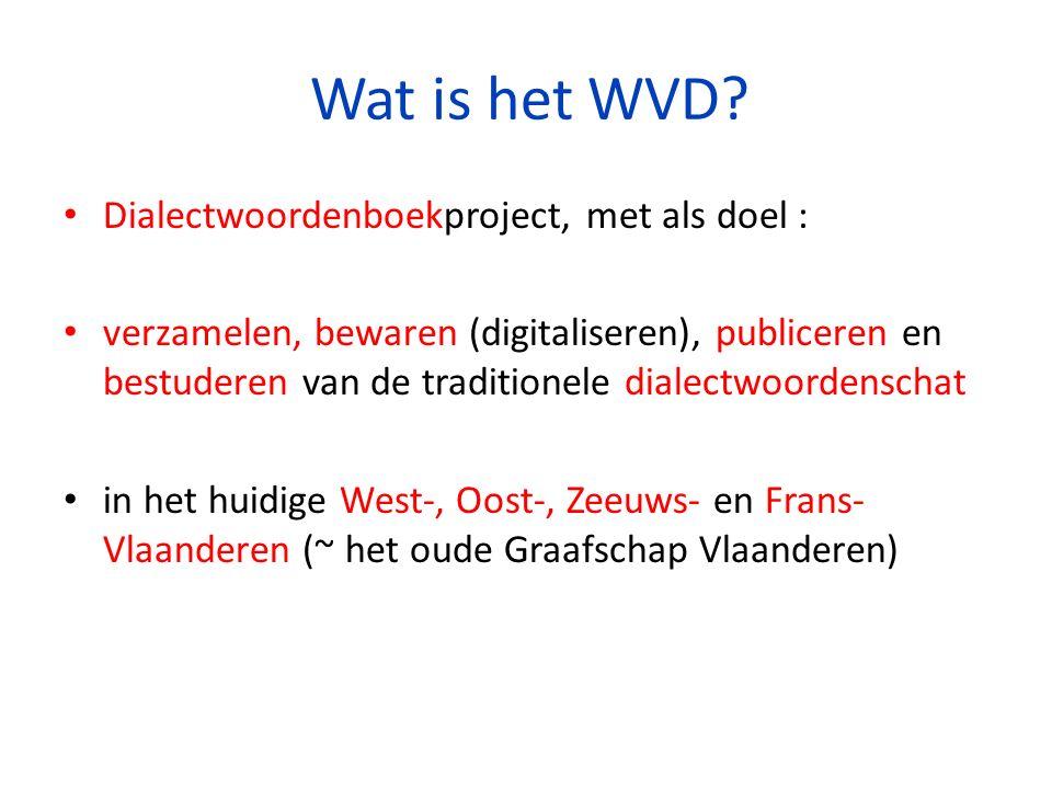 Wat is het WVD.