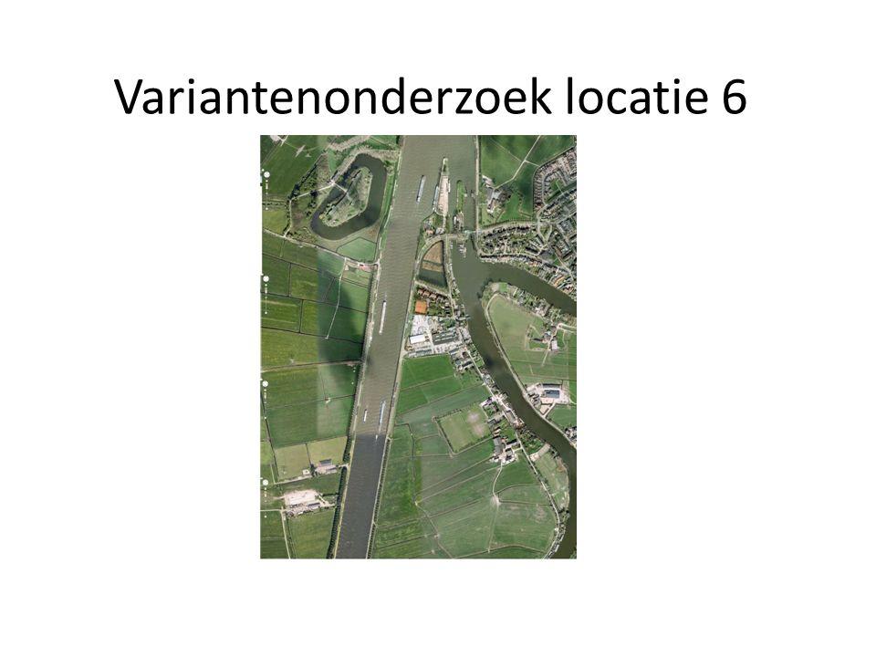 Variantenonderzoek locatie 6