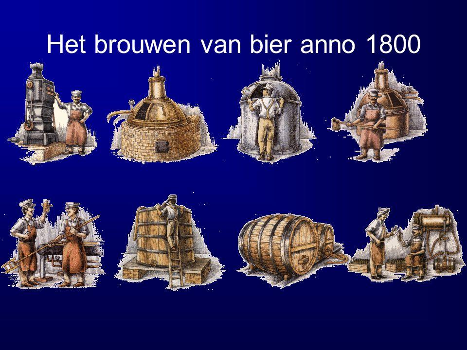 Het brouwen van bier anno 1800