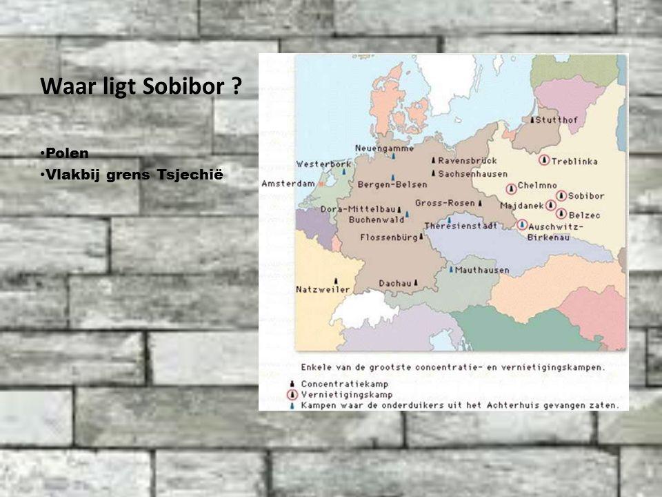 Waar ligt Sobibor Polen Vlakbij grens Tsjechië