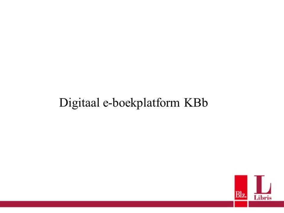 Digitaal e-boekplatform KBb