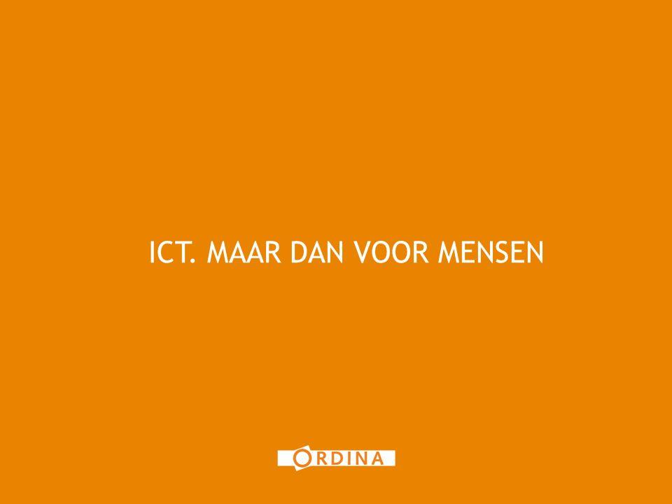 ICT. MAAR DAN VOOR MENSEN 9