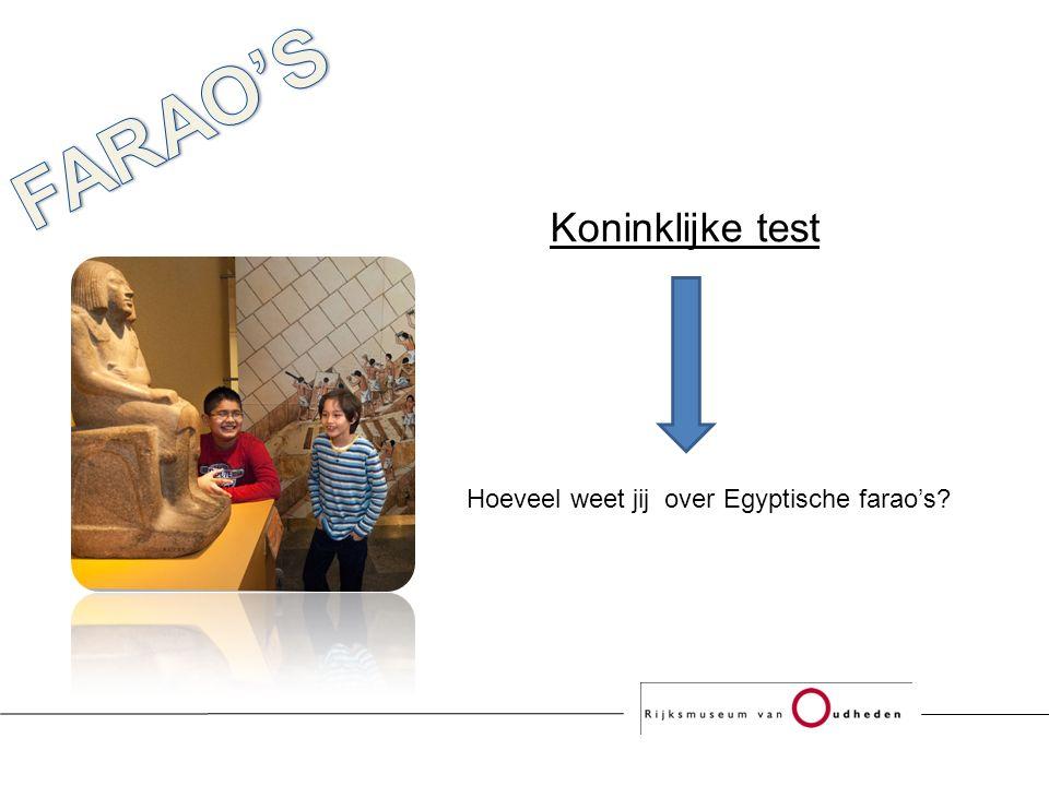 Hoeveel weet jij over Egyptische farao's Koninklijke test