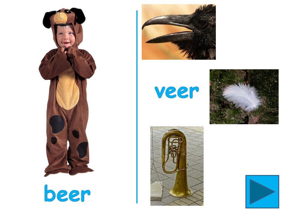 Bij begint met de letter b. Wie begint ook met de b? Beer, dokter, piraat of cowboy? bij beer b