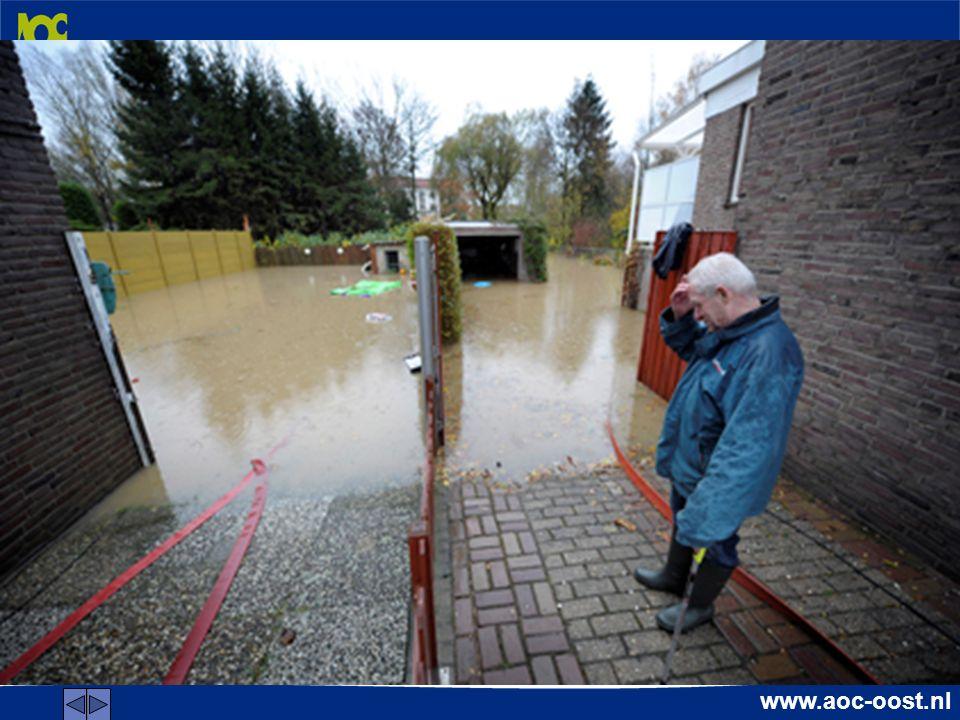 www.aoc-oost.nl Transfer Hoe ziet de ideale praktijkles er uit om veel te leren over drainage en waterafvoersystemen?