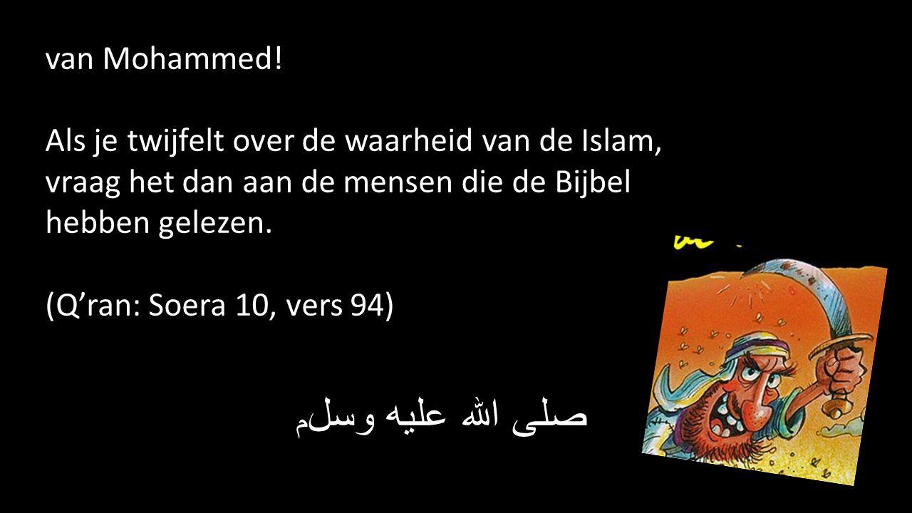 Maar Islam = onderwerping.Verwrongen beeld van God.