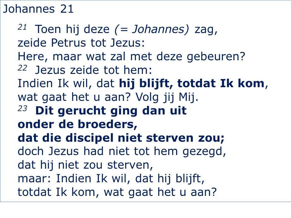 2Petrus 3 4 en zeggen: Waar blijft de belofte van zijn komst.