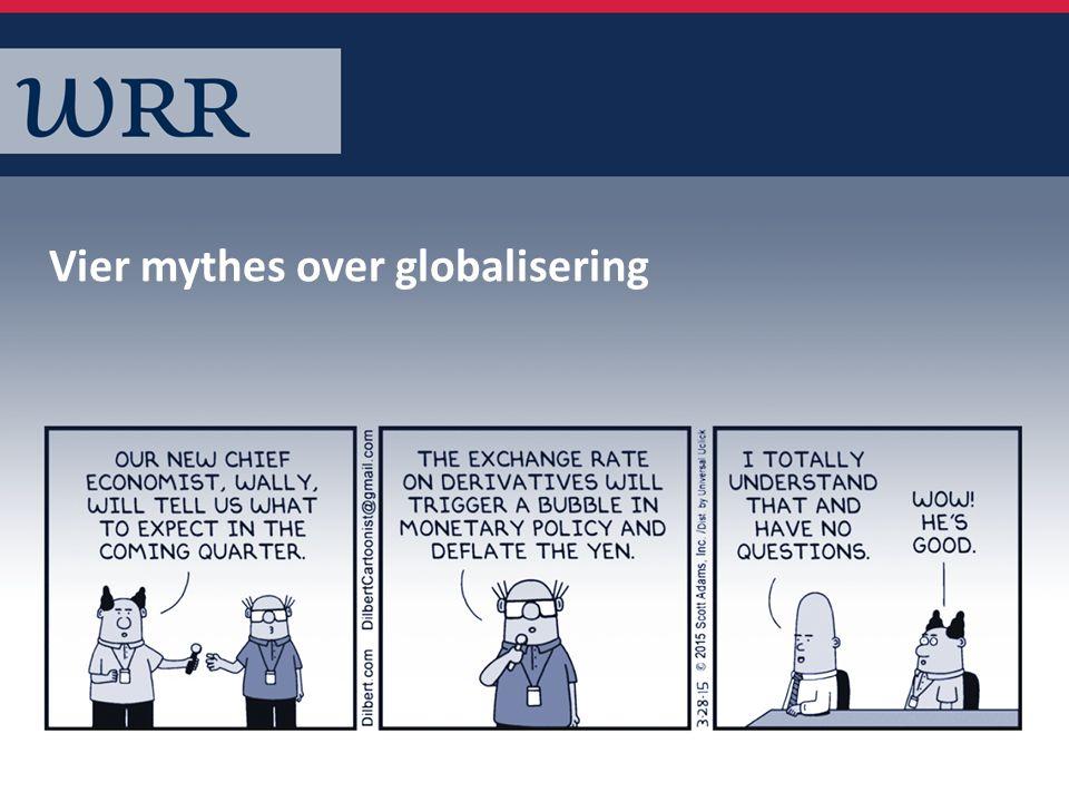 De wereld is plat, verschillen tussen landen verdwijnen Mythe 1