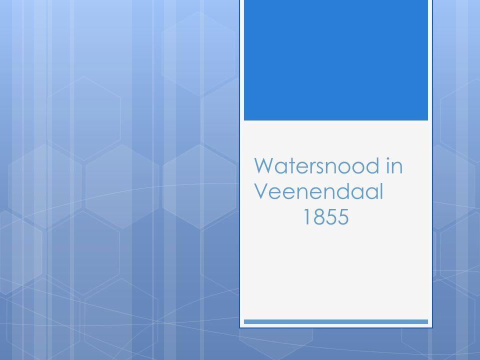 Watersnood in Veenendaal 1855