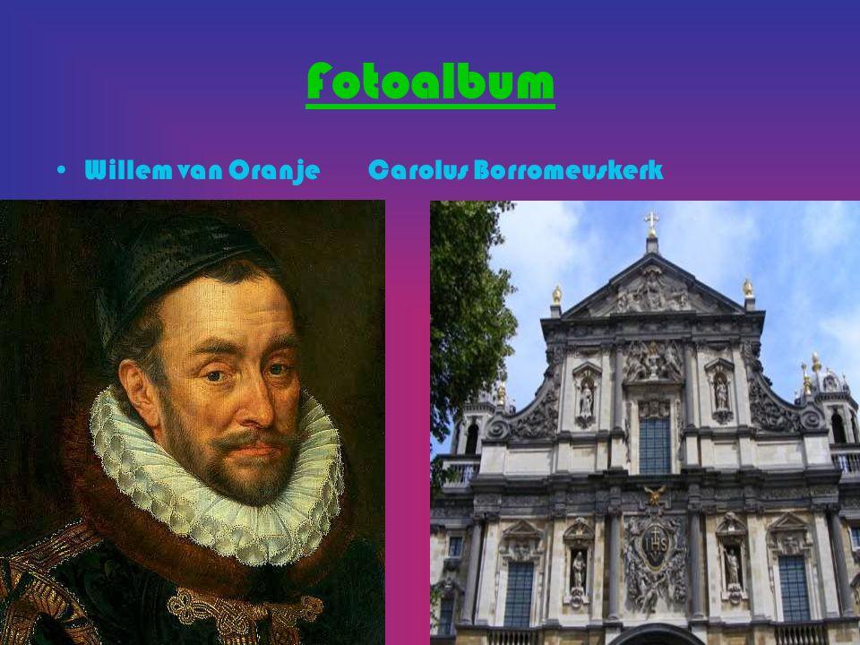 Fotoalbum Willem van Oranje Carolus Borromeuskerk