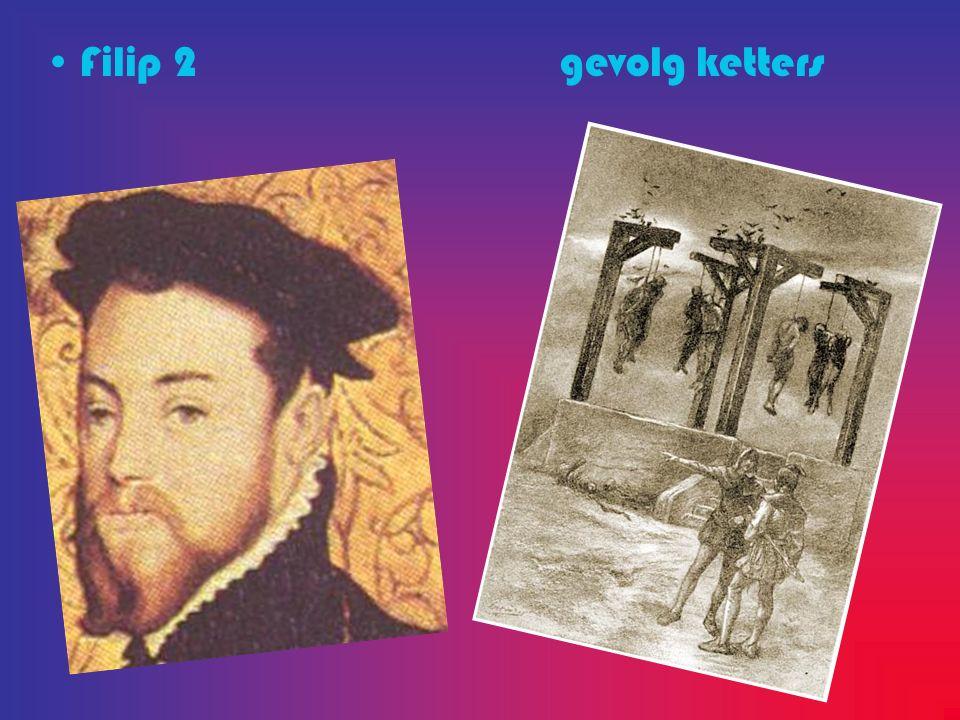 Filip 2 gevolg ketters