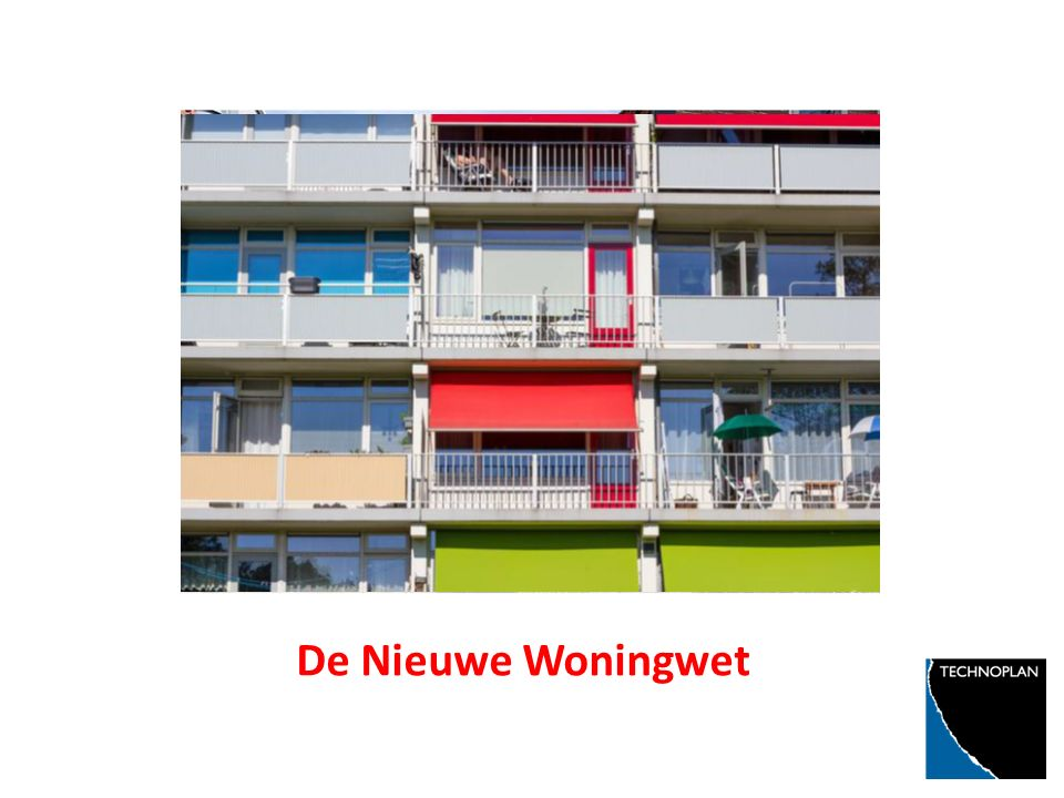opening Met mooi logo enzo De Nieuwe Woningwet