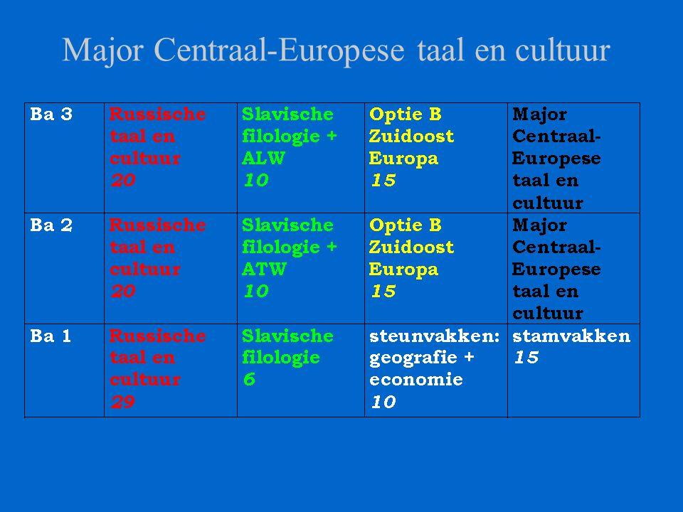 Major Zuidoost-Europese taal en cultuur