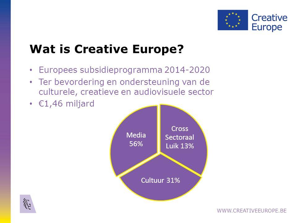 18 Online Distributie ondersteund door MEDIA www.creativeeurope.be