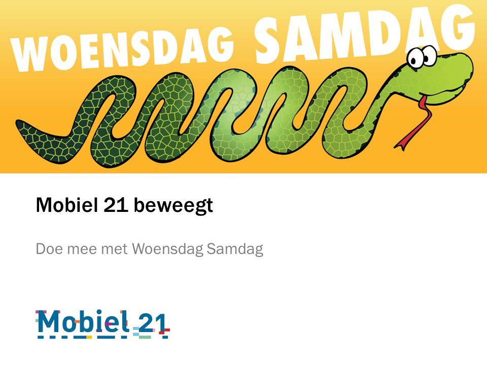 Mobiel 21 beweegt Doe mee met Woensdag Samdag