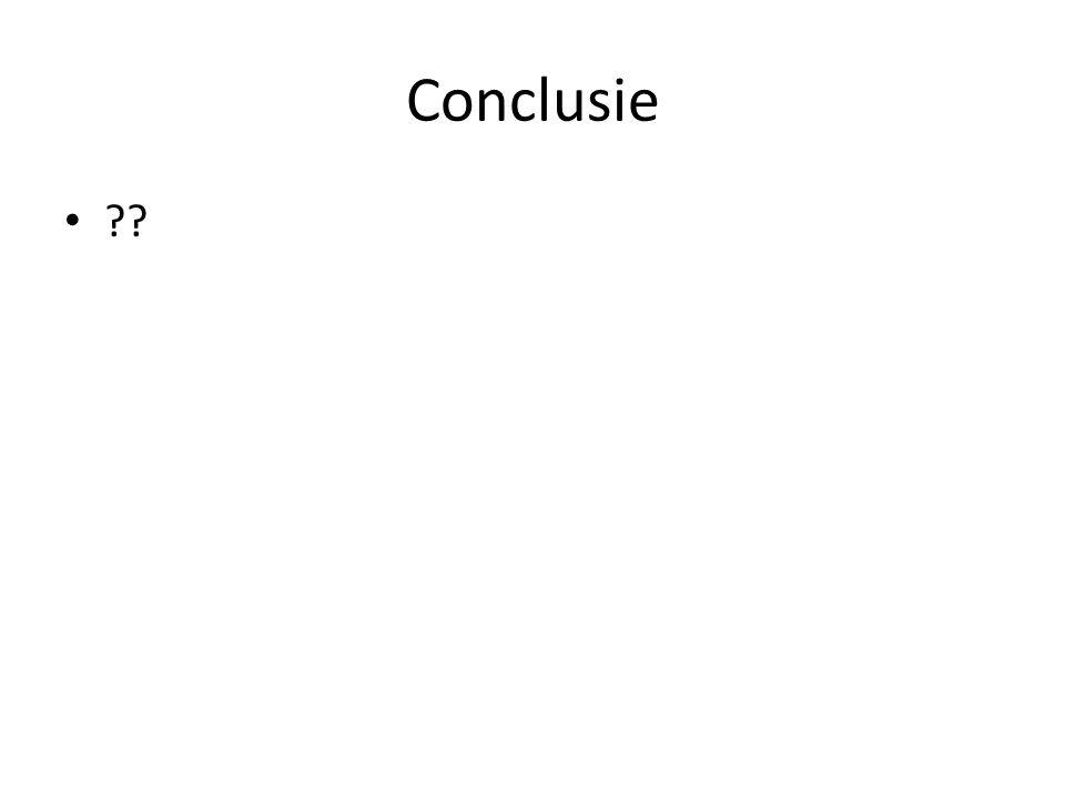 Conclusie ??