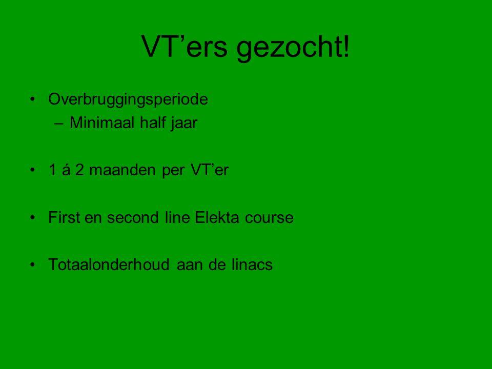 VT'ers gezocht.