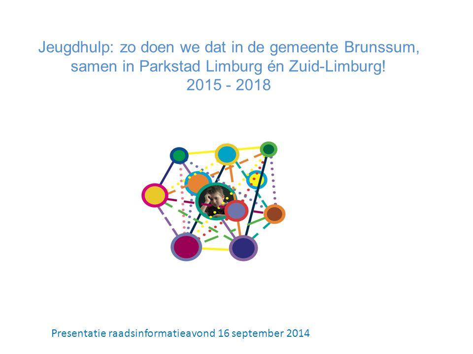 Jeugdhulp: zo doen we dat in de gemeente Brunssum, samen in Parkstad Limburg én Zuid-Limburg.