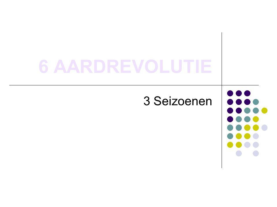 6 AARDREVOLUTIE 3 Seizoenen