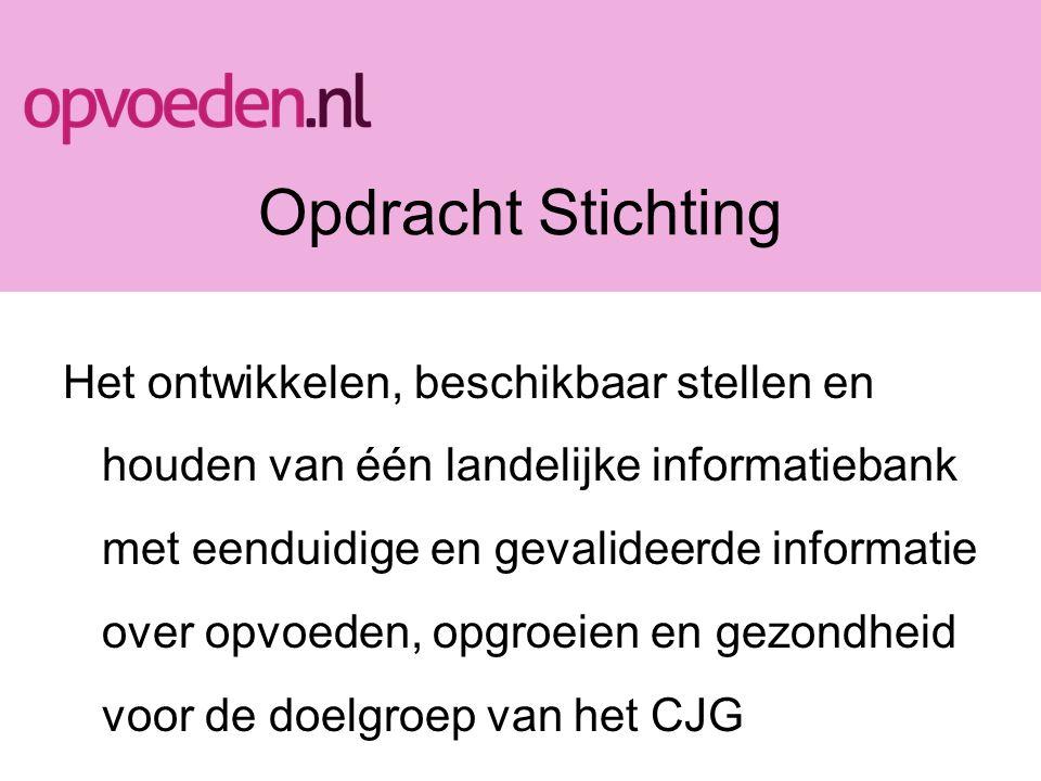 Samenvoeging content van - GGD Amsterdam –Virtueel Centrum voor Jeugd en Gezin (V-CJG) –Biblionet ID Resultaat: één landelijke basiscontent (gratis) Transitiesituatie