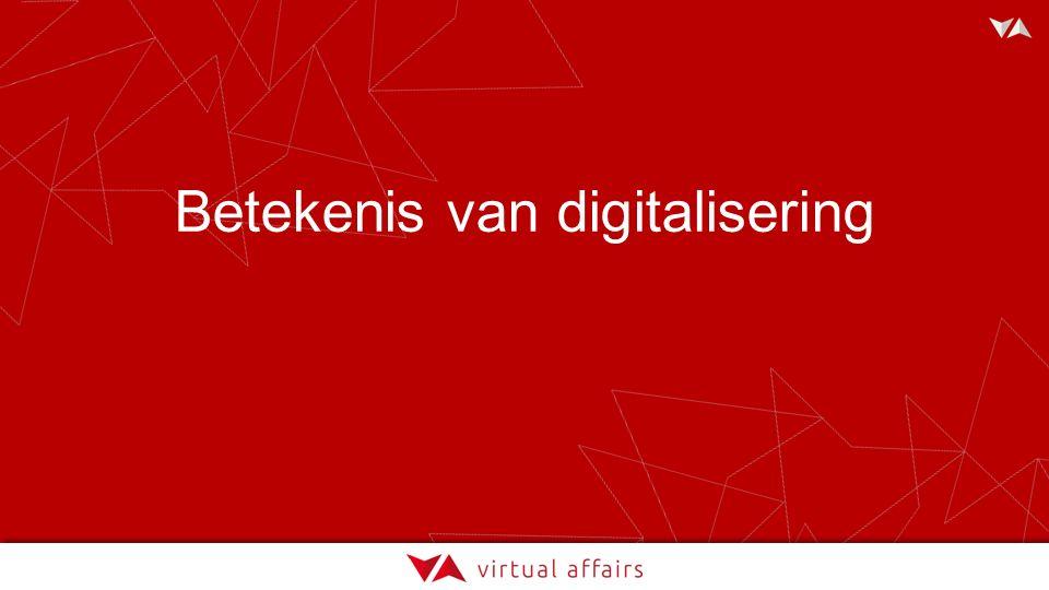 Betekenis van digitalisering