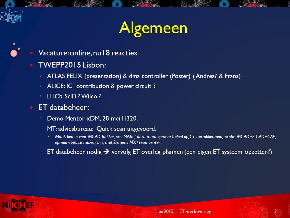 Algemeen Vacature: online, nu18 reacties.
