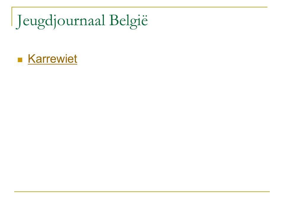 Jeugdjournaal België Karrewiet