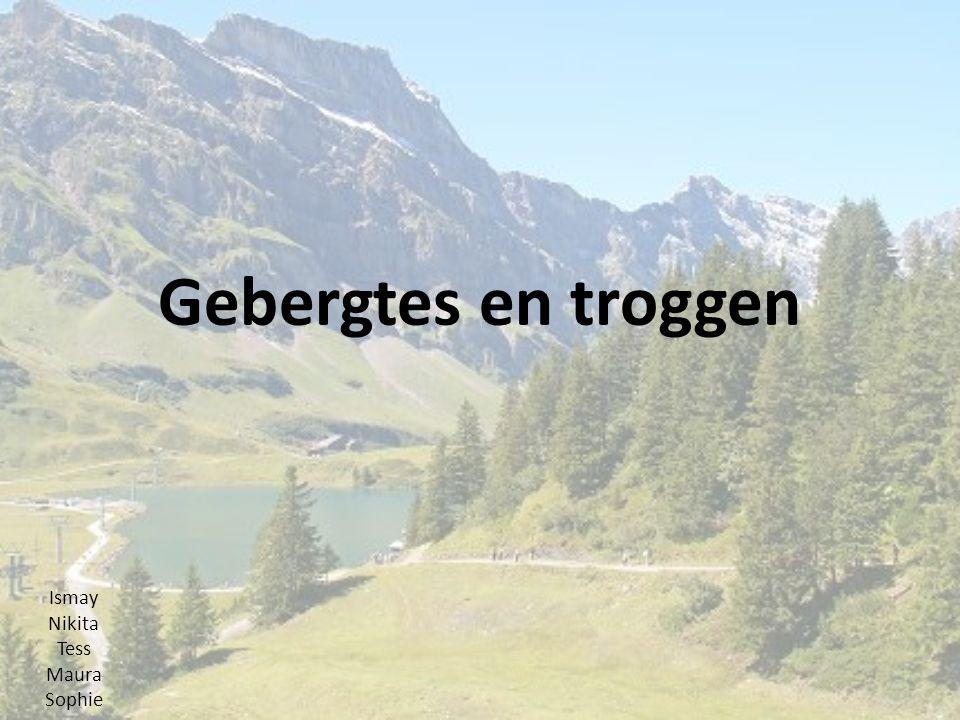 inhoud Mariana trog Rocky mouintains Alpen himalaya Ardennen