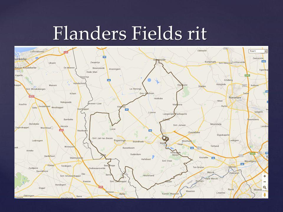 Flanders Fields rit
