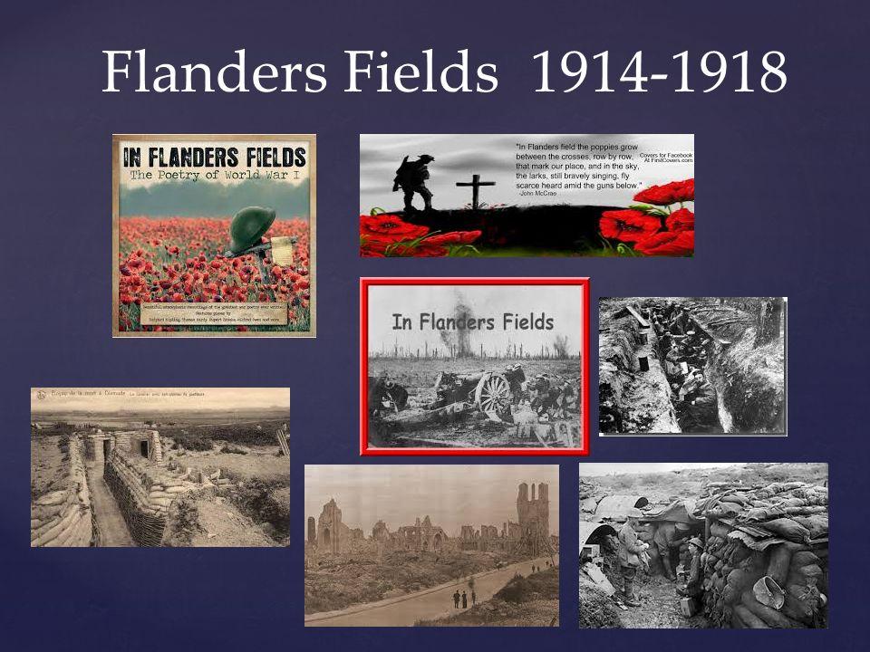 Flanders Fields 1914-1918