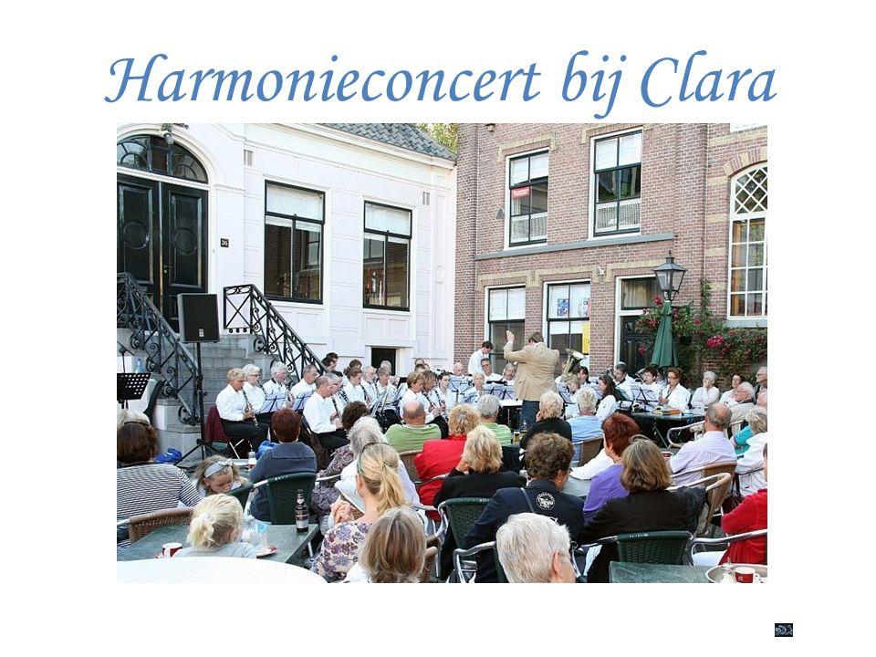 Harmonieconcert bij Clara