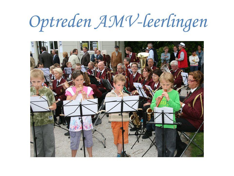 Optreden AMV-leerlingen