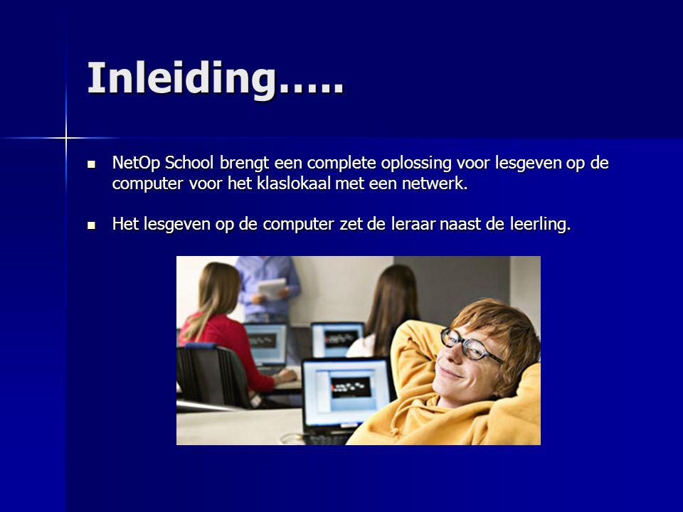 Broadcast Elke leerling krijgt individuele instructies en toch wordt er simultaan gewerkt.