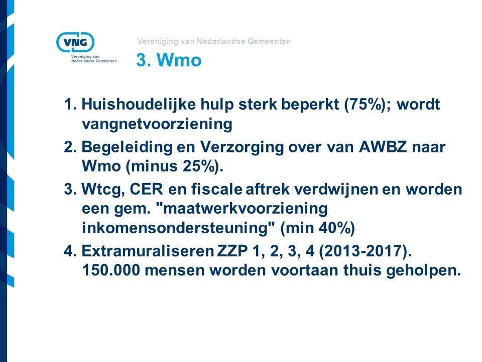 Vereniging van Nederlandse Gemeenten 3. Wmo 1.