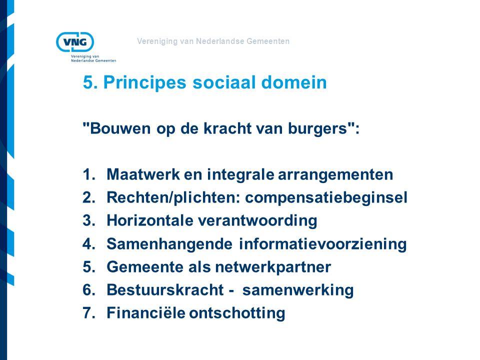 Vereniging van Nederlandse Gemeenten 6. Laatste nieuws uit Den Haag...