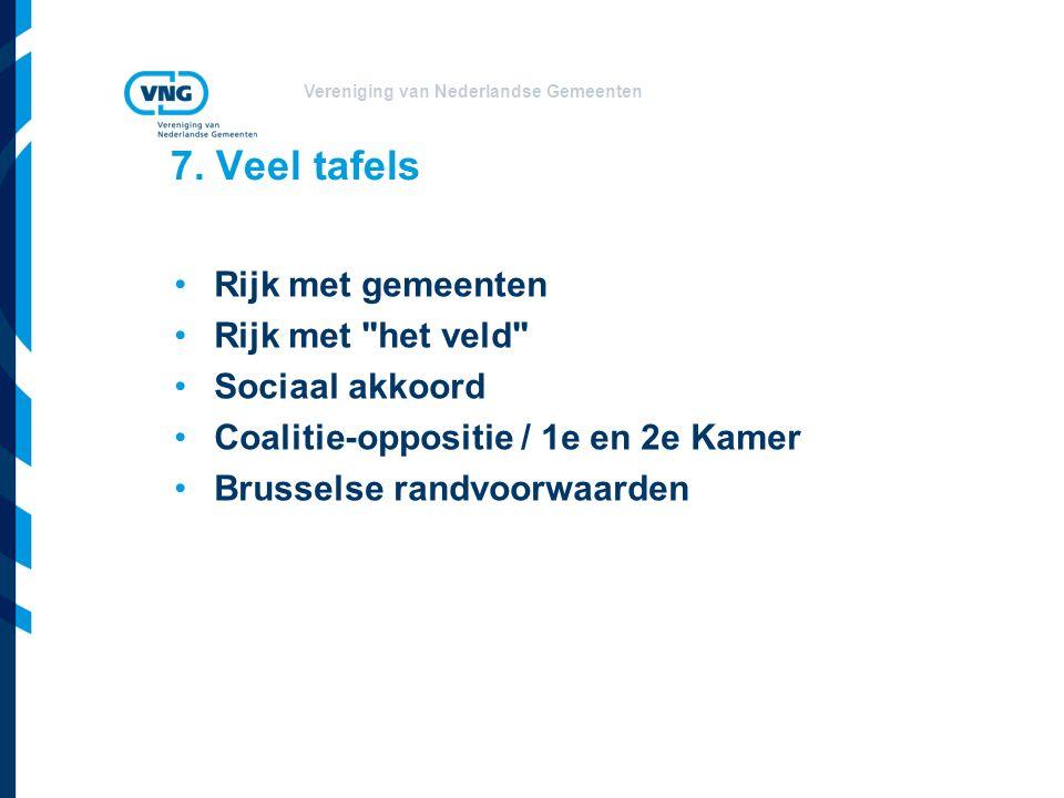 Vereniging van Nederlandse Gemeenten 7.