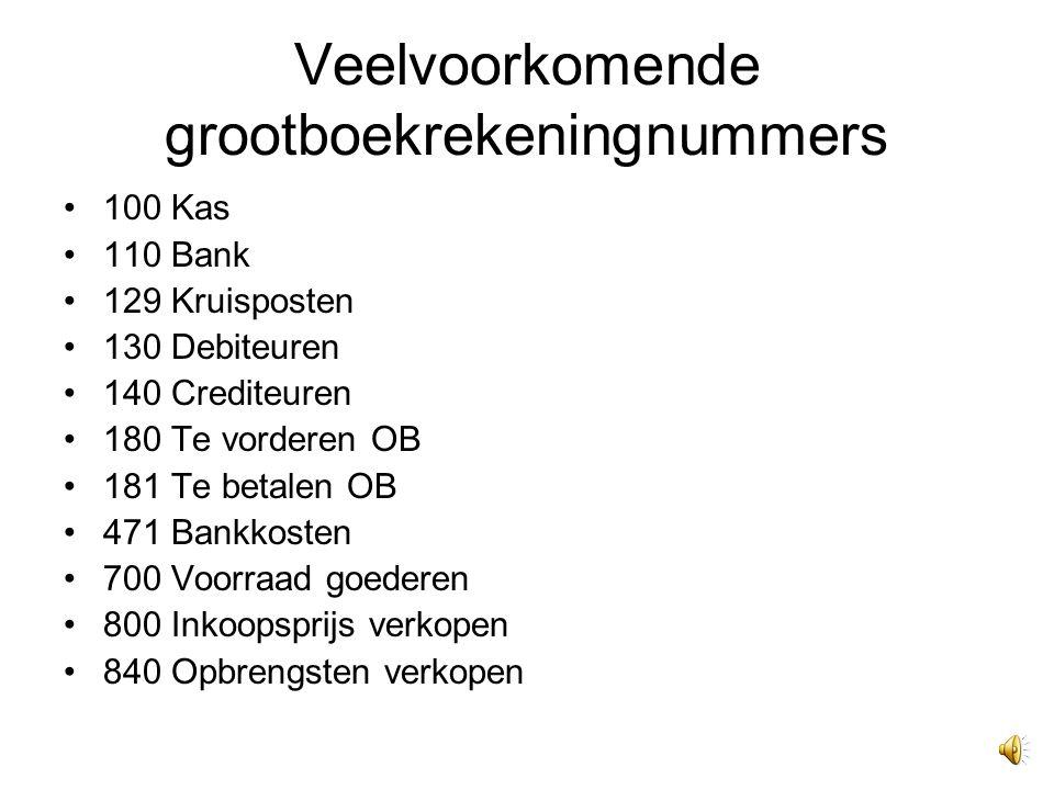 Kruisposten Is een financiële tussenrekening. Bijvoorbeeld tussen kas en bank.