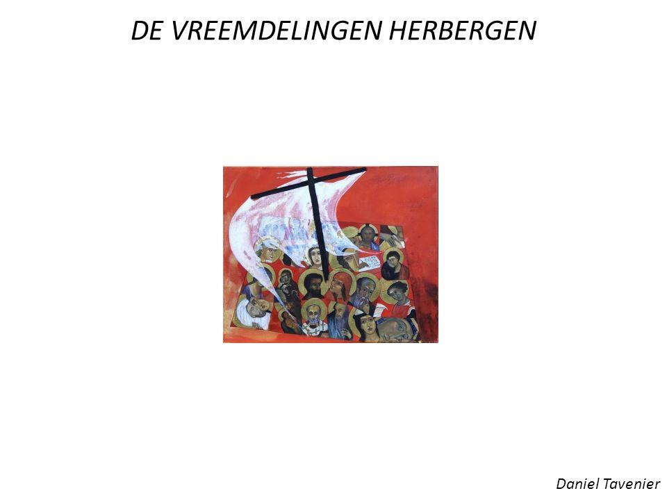 DE VREEMDELINGEN HERBERGEN